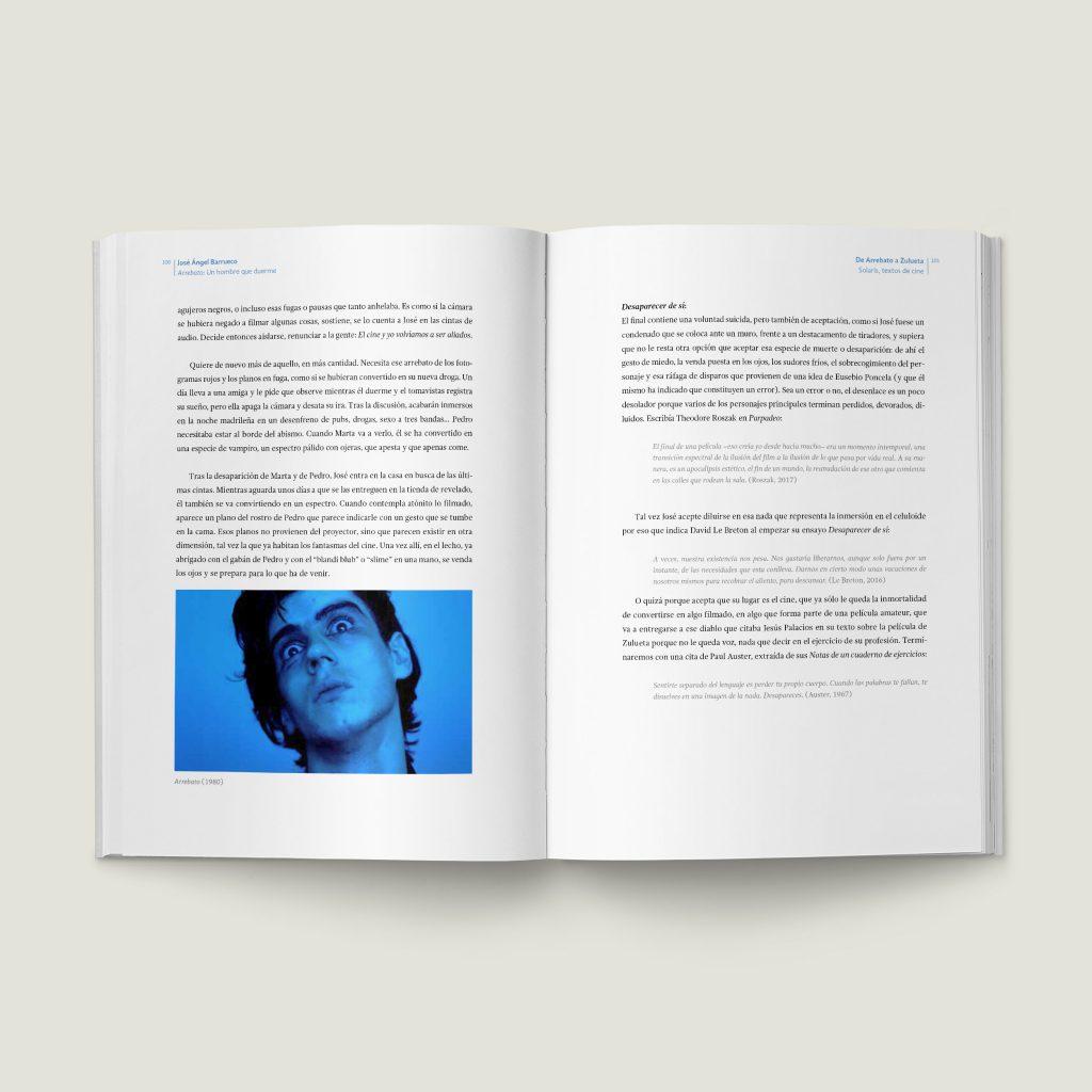 Páginas 100–101 De Arrebato a Zulueta - SOLARIS, Textos de Cine