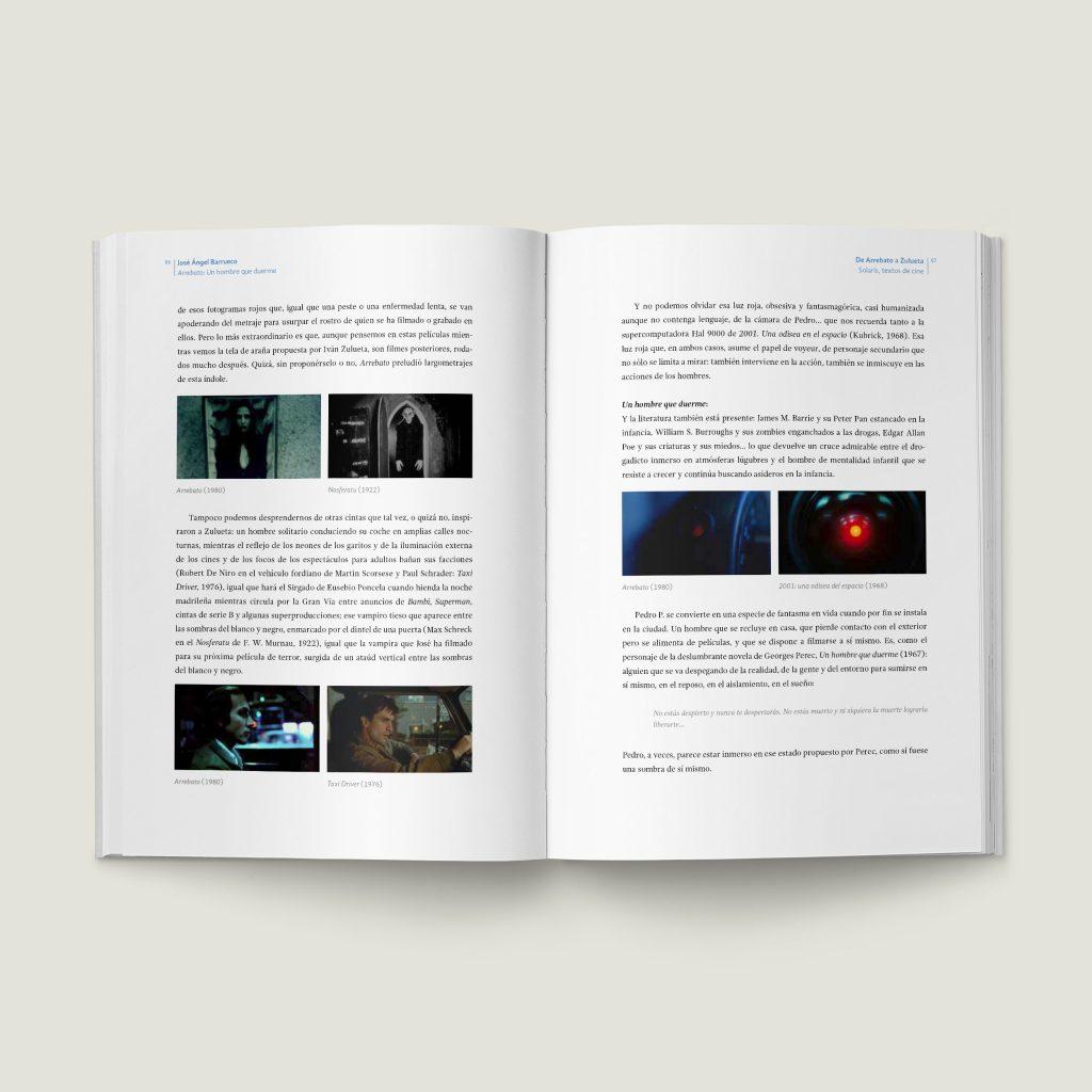 Páginas 86–87 De Arrebato a Zulueta - SOLARIS, Textos de Cine