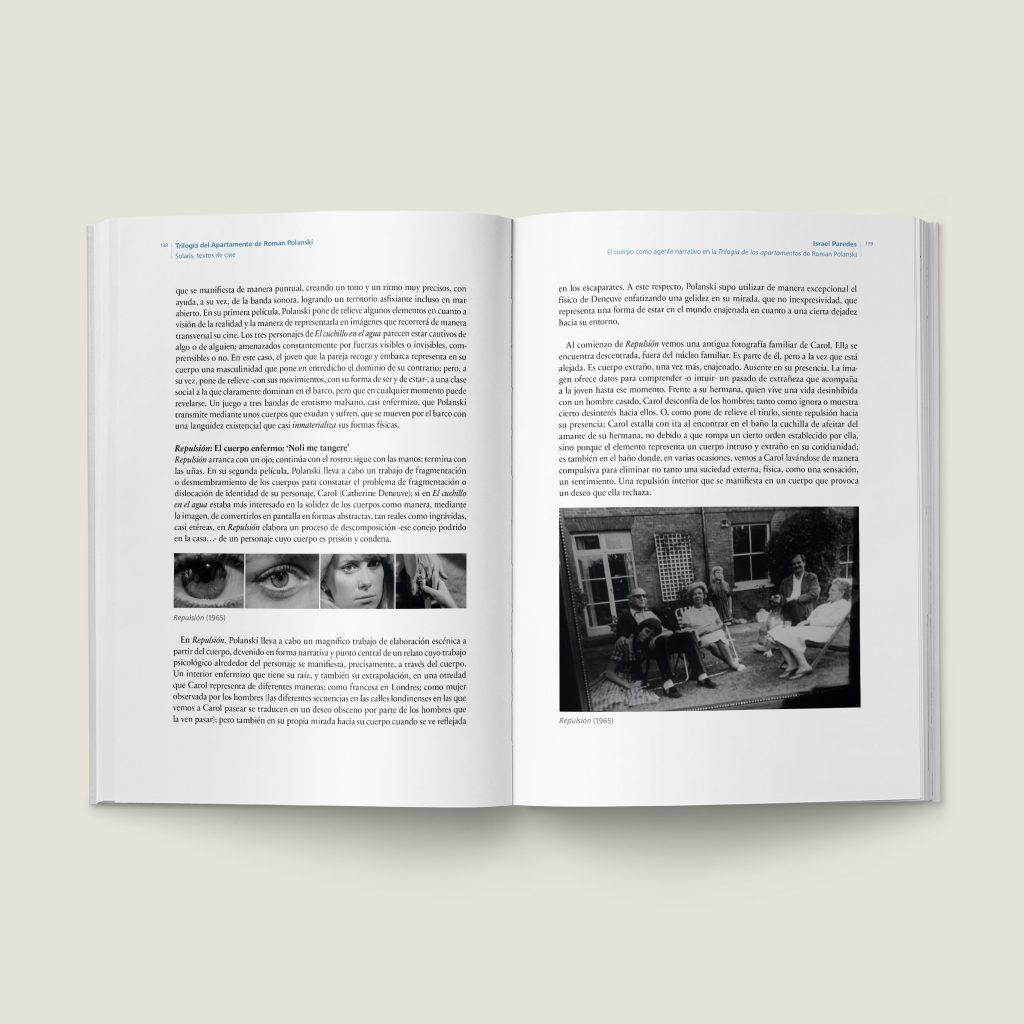 Páginas 138–139 de Trilogía del Apartamento de Roman Polanski - SOLARIS Textos de Cine