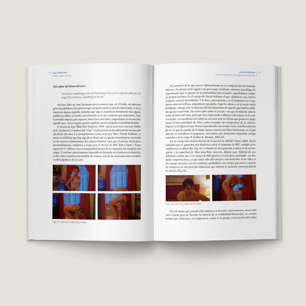 Páginas 114–115 de Eyes Wide Shut - SOLARIS Textos de Cine