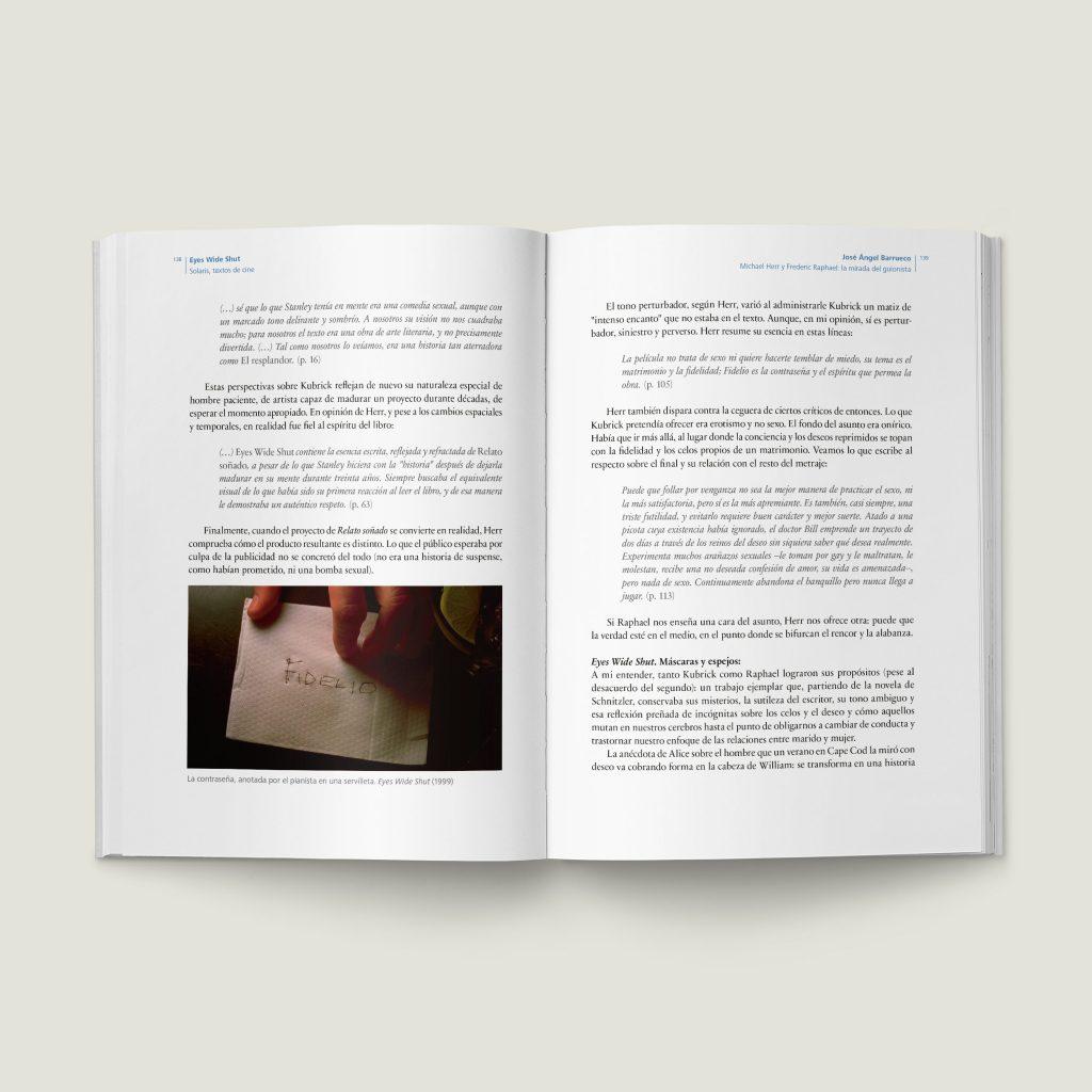 Páginas 138–139 de Eyes Wide Shut - SOLARIS Textos de Cine