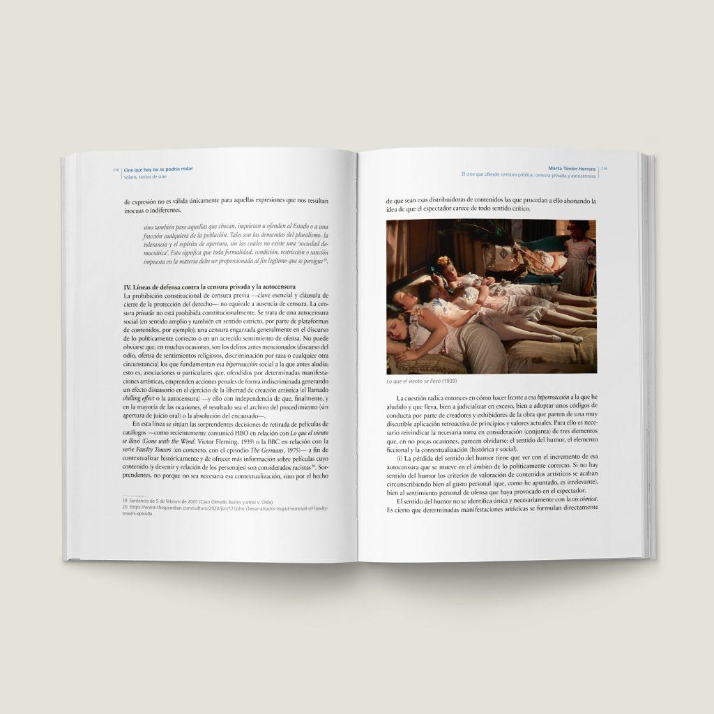 Páginas 218-219 de Cine que hoy no se podría rodar - SOLARIS Textos de Cine